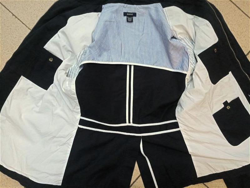 Мужская куртка пиджак блейзер gant - Фото 6