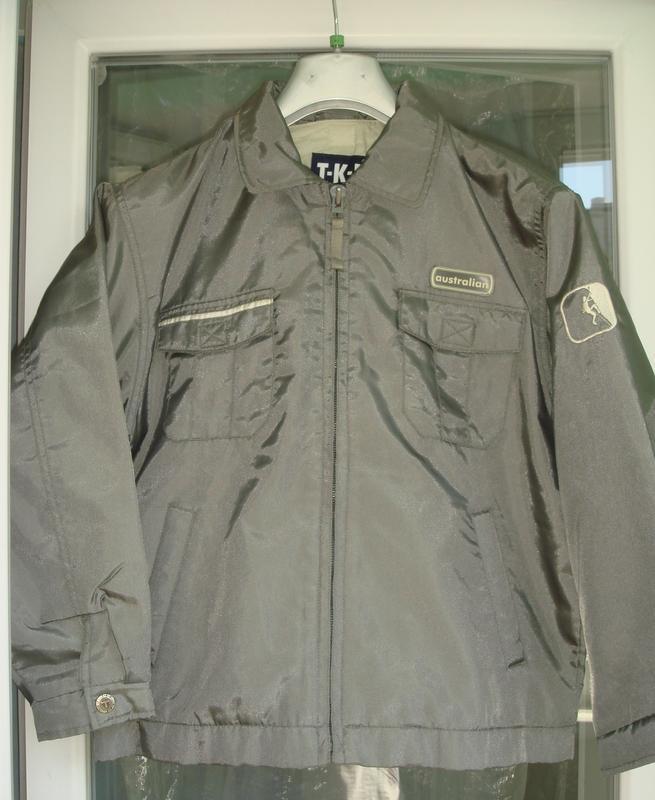Куртка демисезон t-f-k германия р.152 полненькому крупному мал...