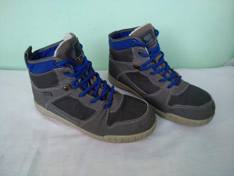 Термо-ботинки р.35 walkx kids германия мембранные зимние демис... - Фото 2