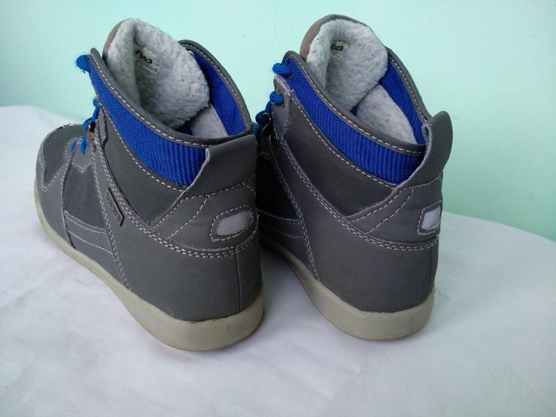 Термо-ботинки р.35 walkx kids германия мембранные зимние демис... - Фото 3