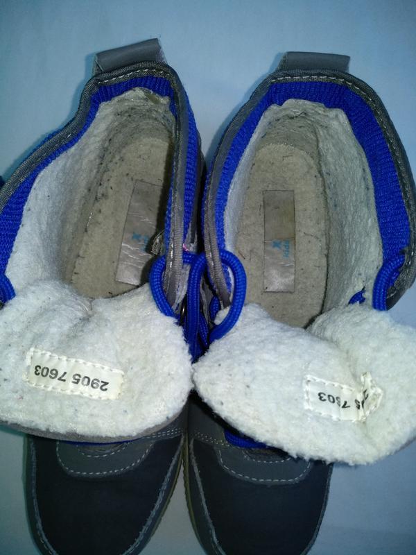 Термо-ботинки р.35 walkx kids германия мембранные зимние демис... - Фото 4
