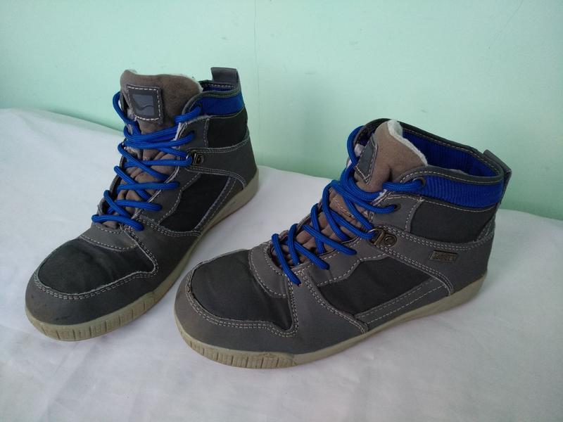 Термо-ботинки р.35 walkx kids германия мембранные зимние демис... - Фото 9