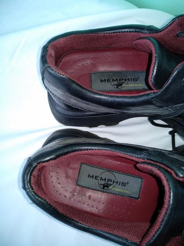 """Туфли кожаные """"memphis"""" оригинал р.40 (26,5см) мужские демисезон - Фото 4"""