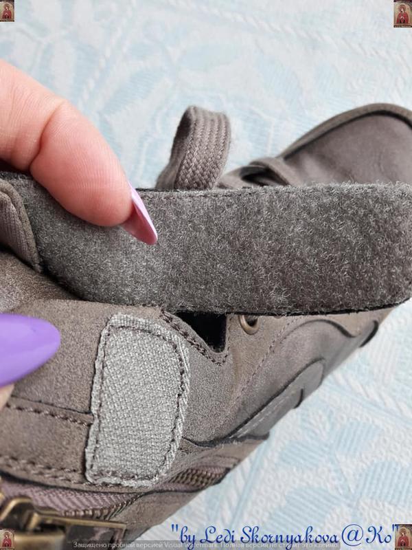 Новые удобные сникерсы красивого цвета хаки с серым и скрытой ... - Фото 5