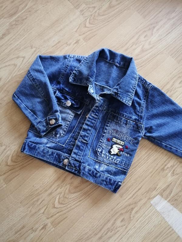 Куртка, курточка, джинсова, джинсовая, для мальчика, для хлопчика