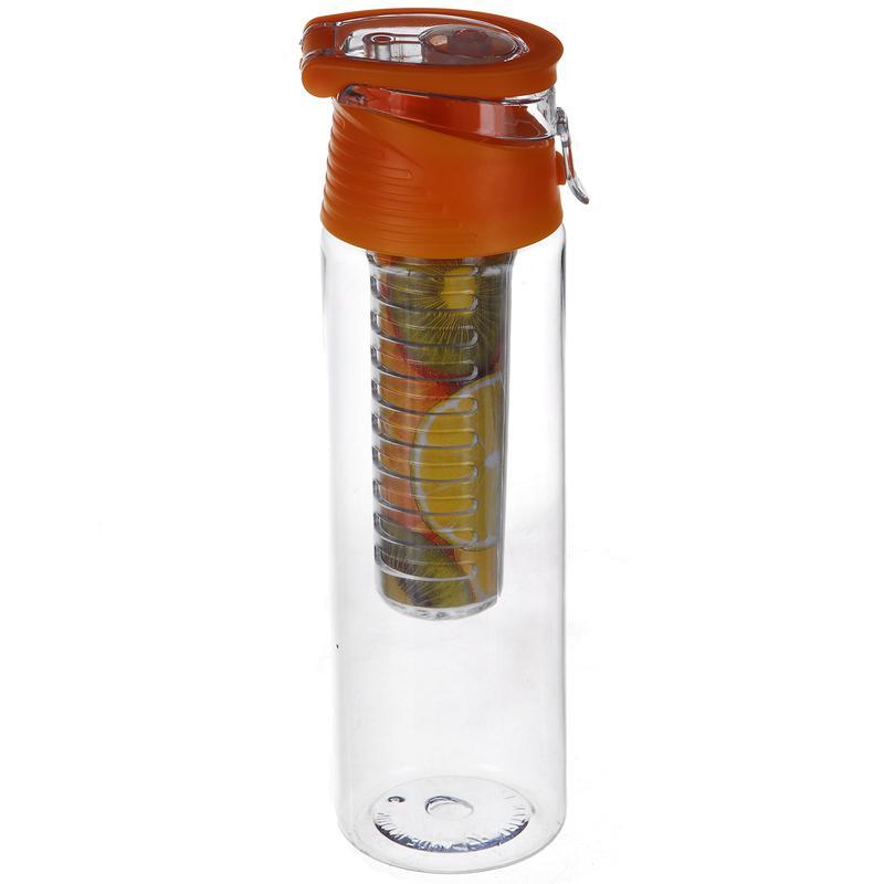 Бутылка для воды напитков My Bottle с колбой под фрукты