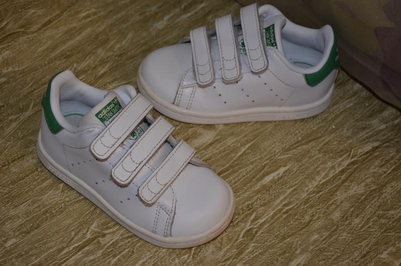 Кроссовки adidas stan smith  , оригинал, 6/23 р., 14.7 см