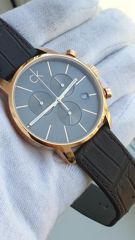 Мужские часы calvin klein k2g276g3 - Фото 4
