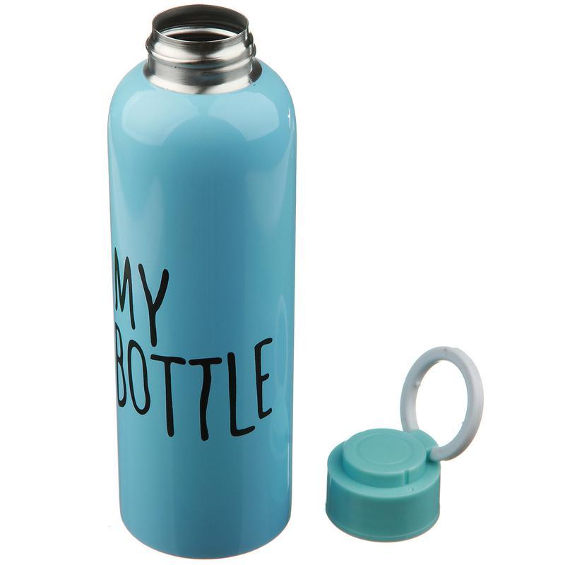 Бутылка для воды напитков my bottle 650 мл железная
