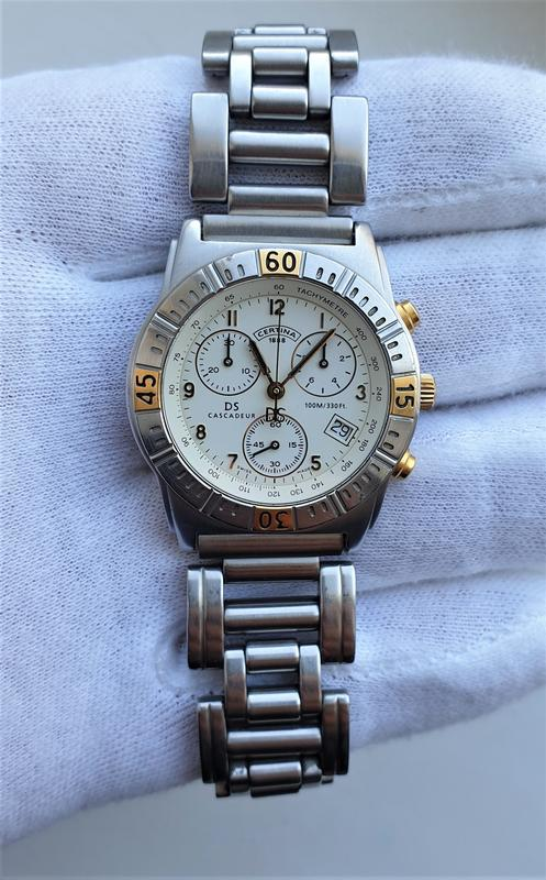 Мужские часы certina cascadeur ds 100m sapphire chronograph