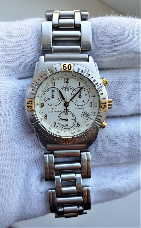 Мужские часы certina cascadeur ds 100m sapphire chronograph - Фото 2