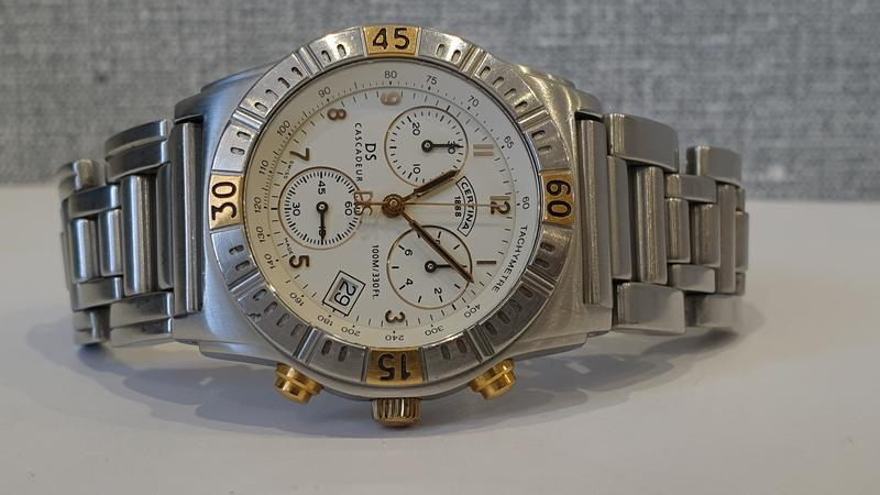 Мужские часы certina cascadeur ds 100m sapphire chronograph - Фото 6