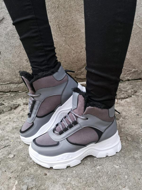Зимние серые кроссы