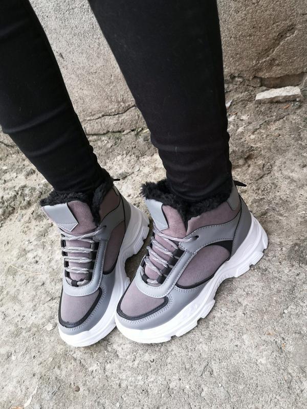Зимние серые кроссы - Фото 4