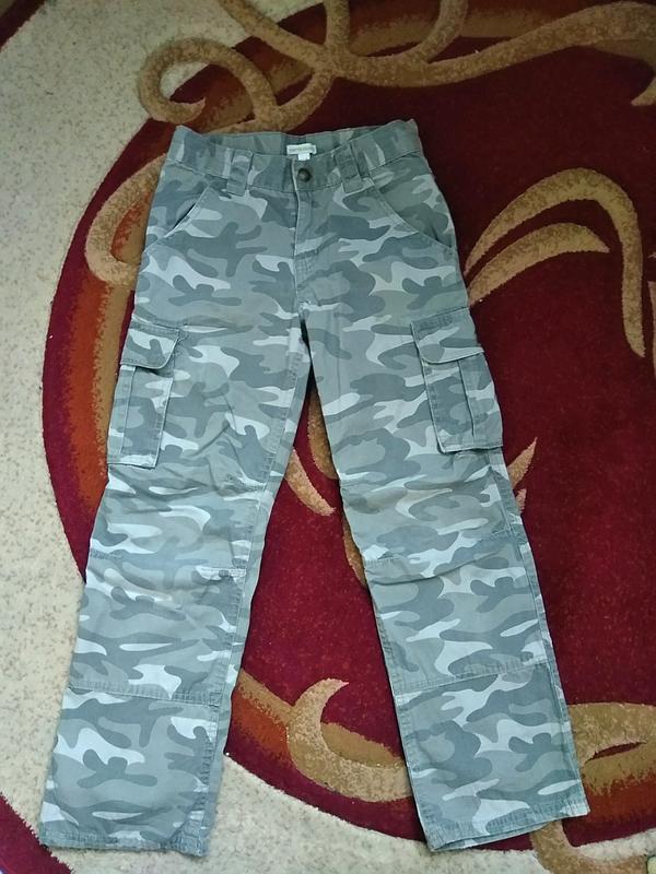 Брюки хлопковые штаны милитари