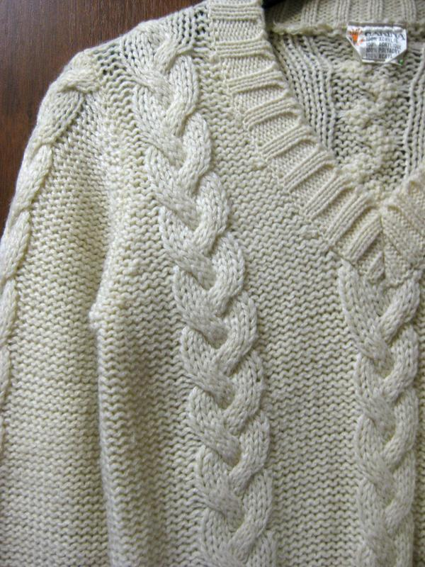 Свитер джемпер кофта carina акрил белый молочный бежевый вязан... - Фото 2