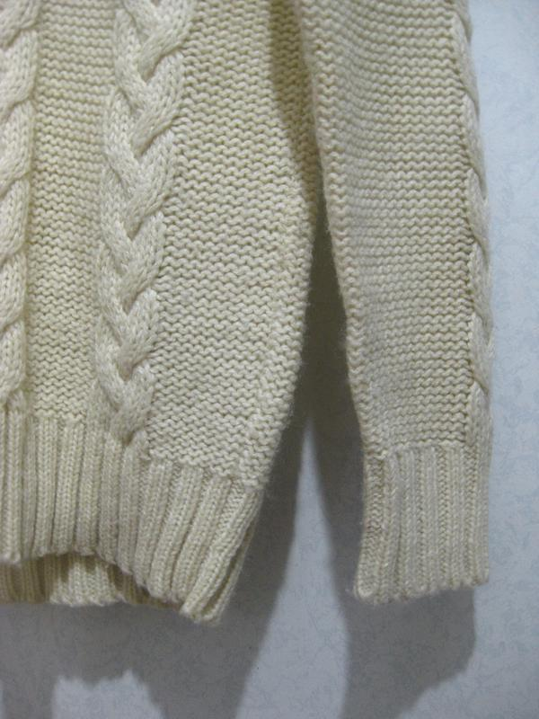 Свитер джемпер кофта carina акрил белый молочный бежевый вязан... - Фото 4
