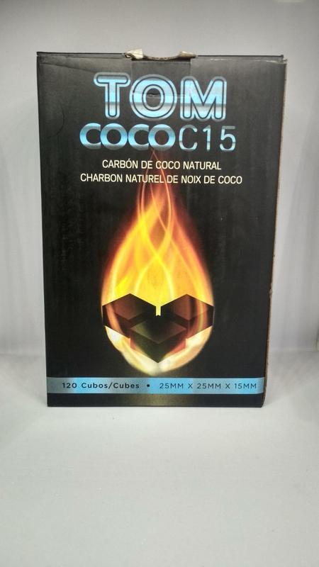 Кокосовый уголь для кальяна Tom Coco C15