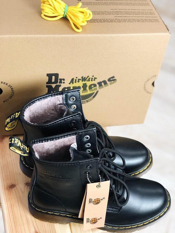 Ботинки dr. martens мех - топ качество - Фото 3