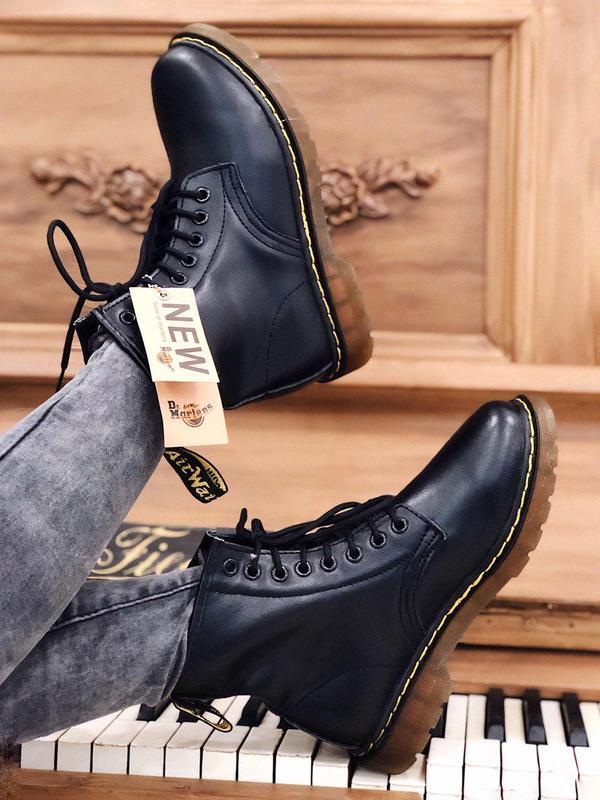 Ботинки dr. martens мех - топ качество - Фото 8