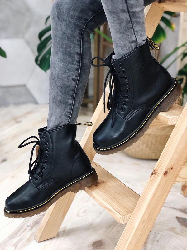 Ботинки dr. martens мех - топ качество - Фото 10