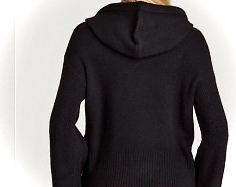 Новенький пуловер/свитшот Armani свободного кроя с капюшом - Фото 2