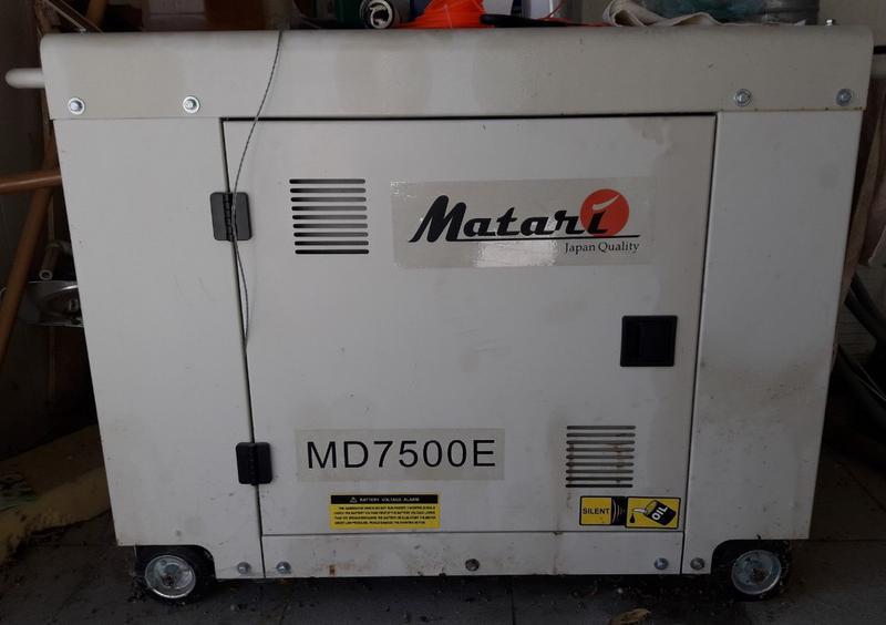 Генератор дизельный MATARI MD7500E (дизельная электростанция)