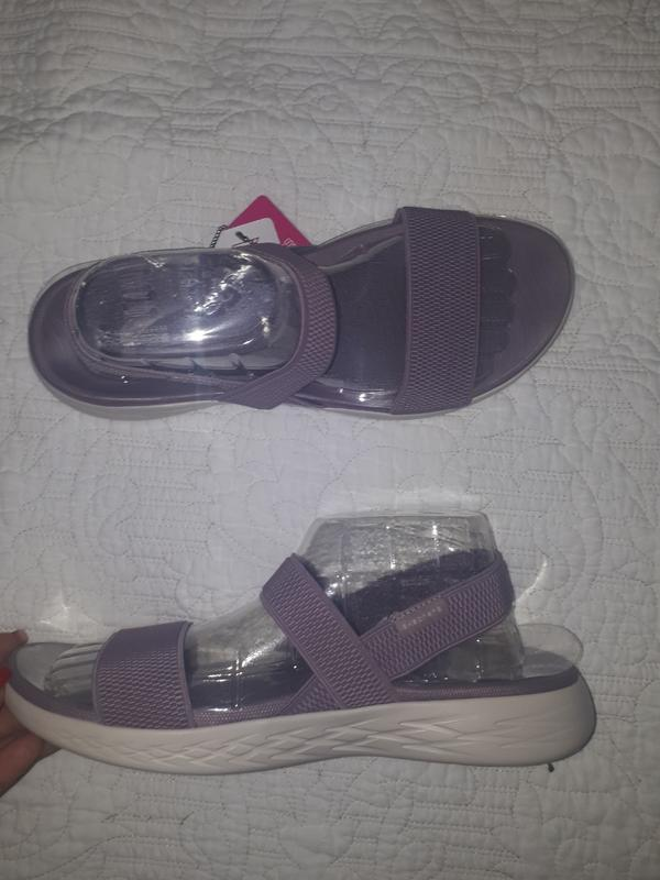 Босоножки сандали резинки skechers w11 - Фото 3