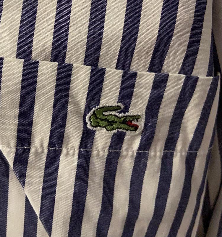Классическая мужская рубашка Lacoste L - Фото 6