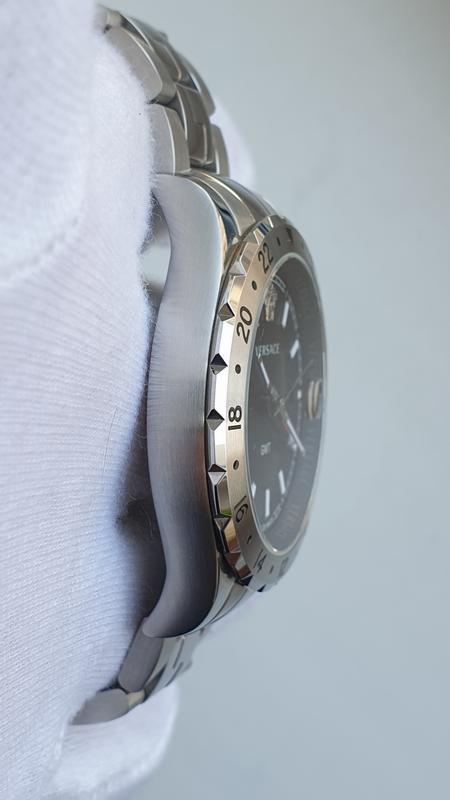 Мужские часы Versace V11020015 Hellenyium GMT 42mm Sapphire - Фото 4
