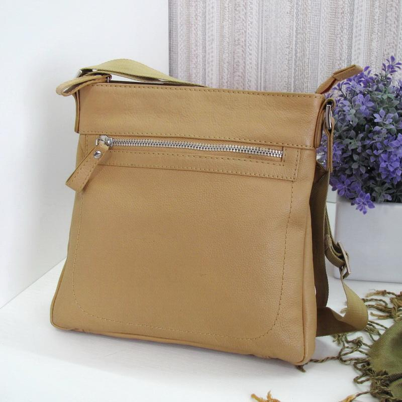 Классная сумка кроссбоди, натуральная кожа