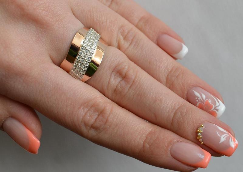 Кольцо серебро 925 с золотом 131к - Фото 4