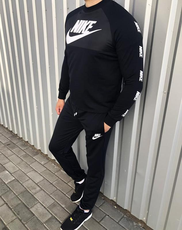 Мужской спортивный костюм бренда nike