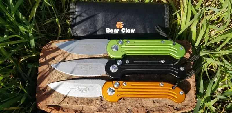 """Microtech """"LUDT"""" Bear claw D2"""