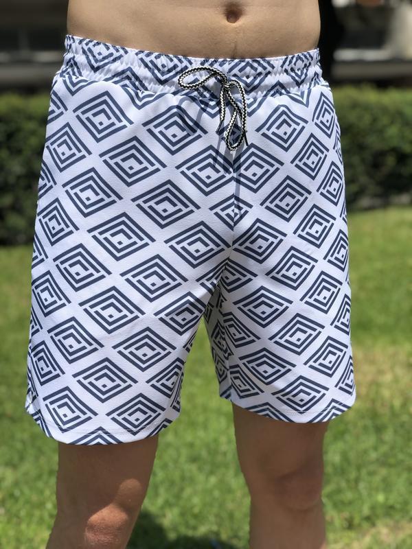Мужские летние шорты {спандекс/коттон} - Фото 9