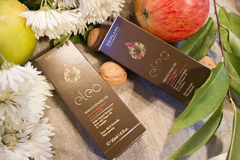 Масло для волос Eleo Oriflame Орифлейм защитное укрепляющее ночно - Фото 2