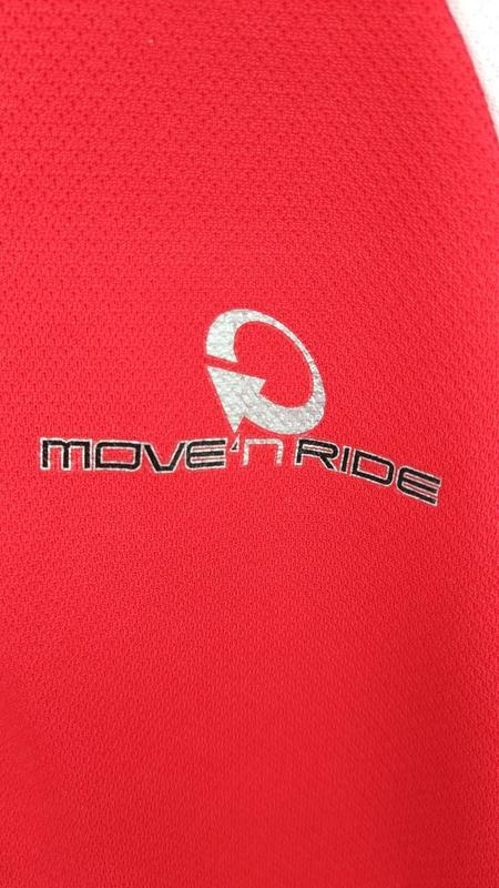 Велофутболка веломайка Move'n ride унисекс майка спортивная велоо - Фото 5