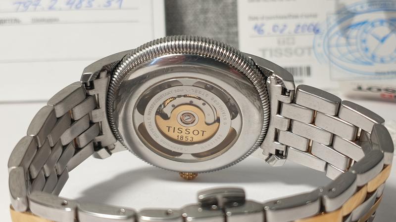 Мужские часы tissot ballade iii t97.2.483.31 automatic - Фото 3