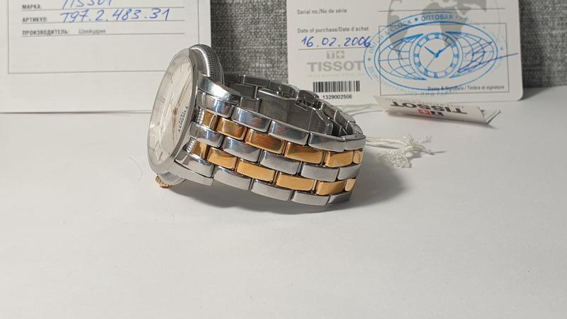 Мужские часы tissot ballade iii t97.2.483.31 automatic - Фото 4