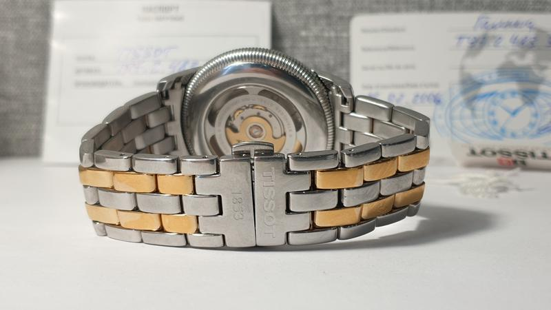 Мужские часы tissot ballade iii t97.2.483.31 automatic - Фото 5
