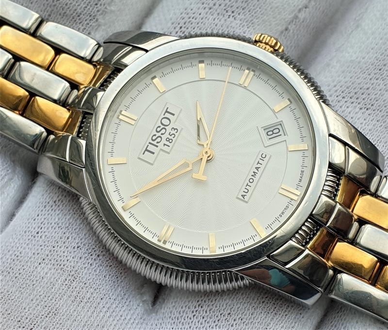 Мужские часы tissot ballade iii t97.2.483.31 automatic - Фото 6