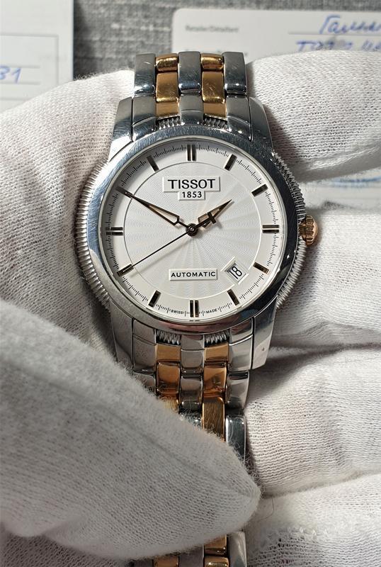 Мужские часы tissot ballade iii t97.2.483.31 automatic - Фото 7