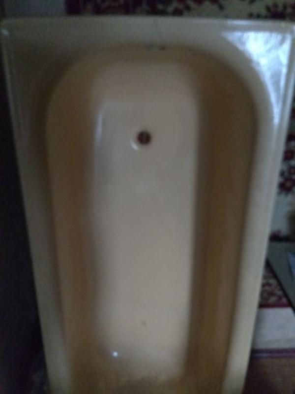 Стальная ванная эмаль