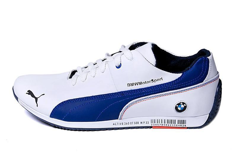 Мужские кожаные кеды Puma BMW MotorSport - Фото 5