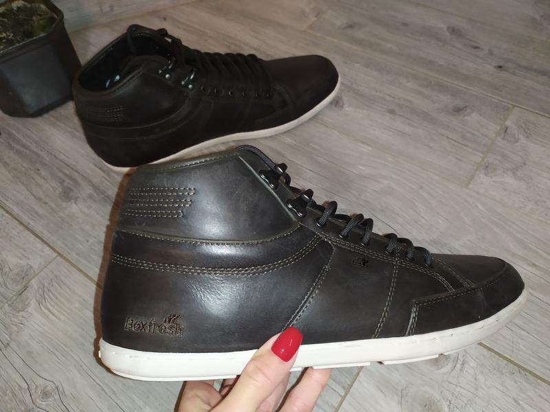 Мужские ботинки boxfresh original 43 розмір 28 см стелька - Фото 7