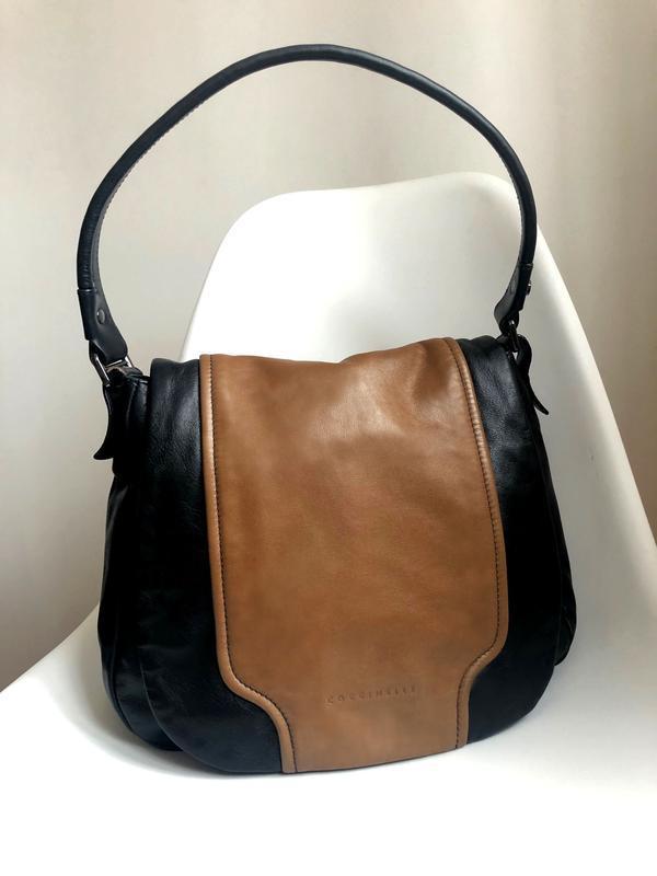 Кожаная итальянская сумка сoccinelle