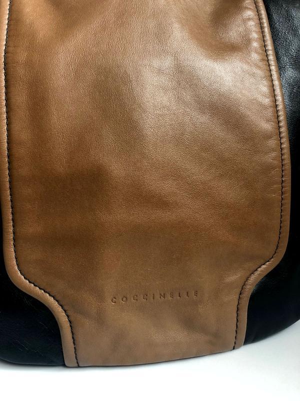 Кожаная итальянская сумка сoccinelle - Фото 3