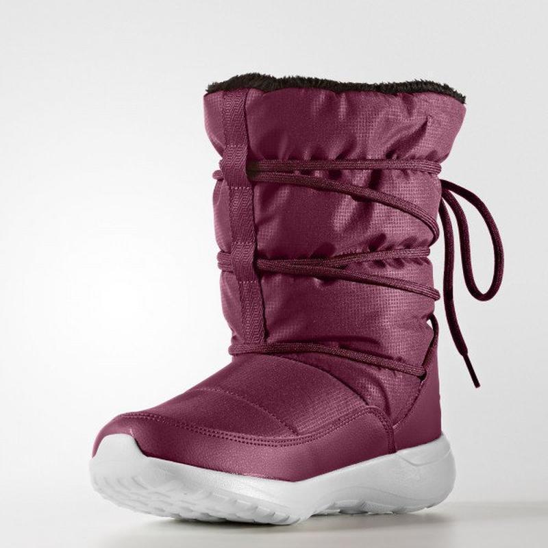 Женские зимние сапоги adidas neo cloudfoam racer winter aq1644