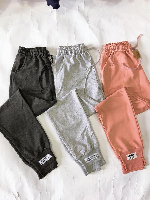 Спортивные штаны женские штаны черные  серые светло серые штан...