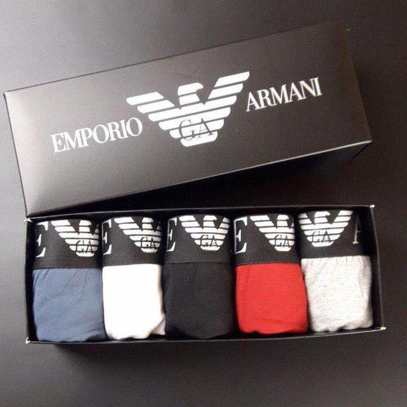 Набор мужских трусов Giorgio Armani 5 шт
